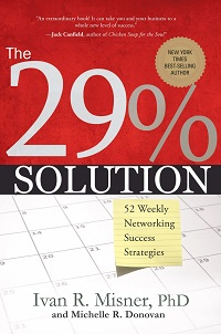The 29% Solution by Michelle R. Donovan and Ivan Misner Front Cover